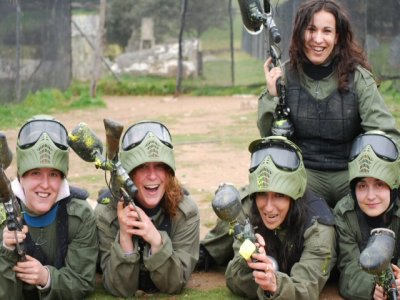 Despedida de solter@ Paintball+ Barbacoa Salamanca