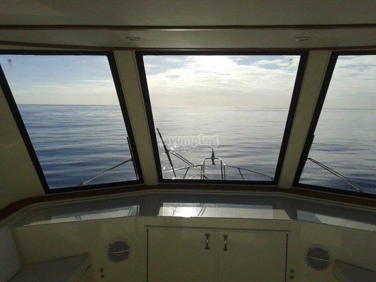 vistas del mar en lanzarote