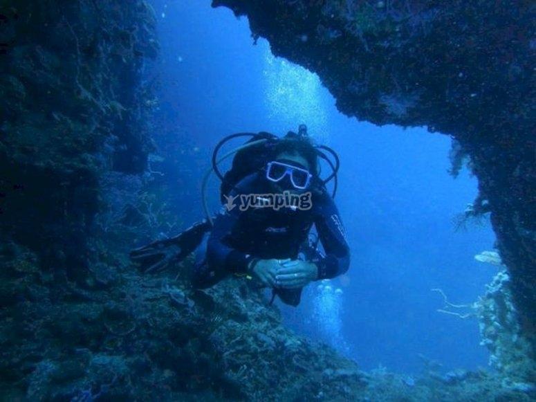 Sumérgete en Jávea con las inmersiones de buceo