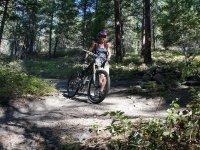Excursion por el campo en bicicleta