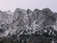 Sierra de cadiz after the snowfall