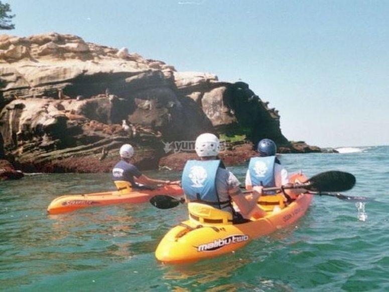 Visita las calas de Almería en kayak