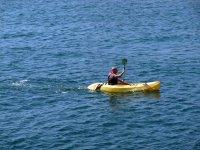 Adentrado en el mar