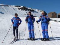raquetas de nieve y esqui de fondo