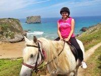 Paseo a caballo por Celorio