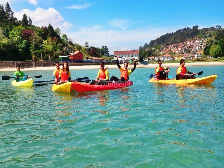 Attività con kayak