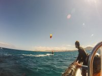 Goditi l'attività in mare aperto