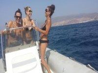 Risas en el barco