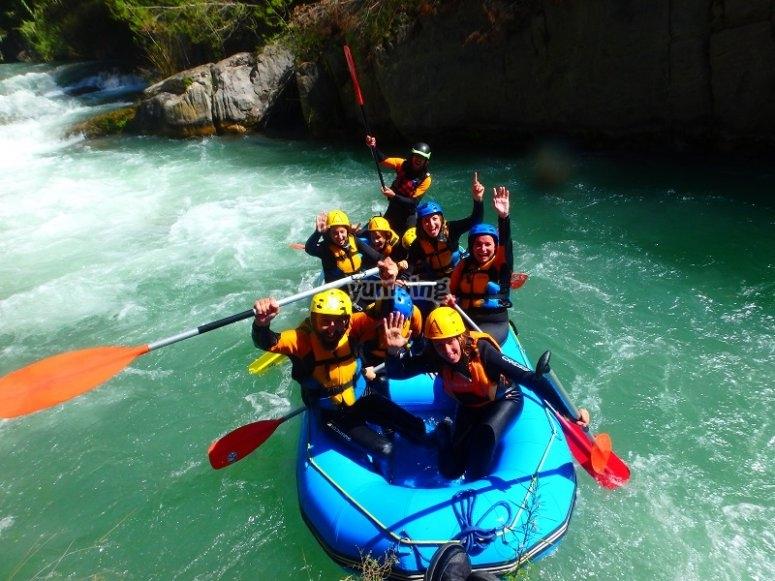 Rafting a Montanejos