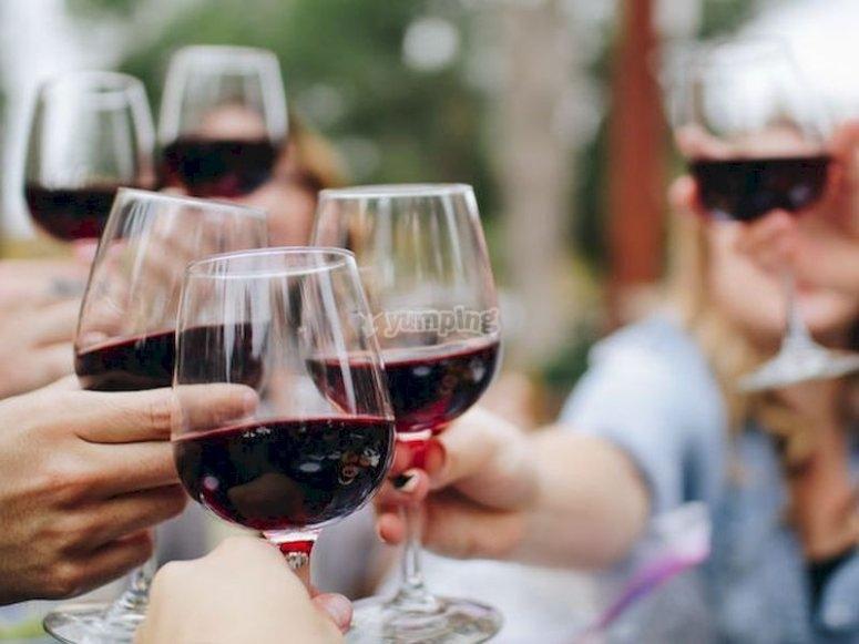 Tiempo de vinos en Almendralejo