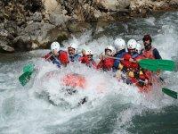 Rafting en el rio esera