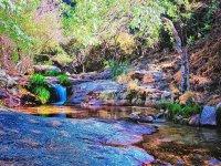 Idyllic landscape in Rascafria