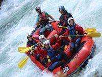 Rafting en el Ésera y el Ara