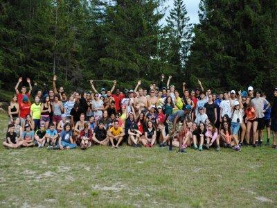 Campamento aventura inglés en Selva Negra Alemania