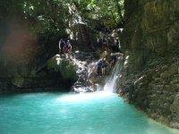 自然Pozas溪降比利牛斯