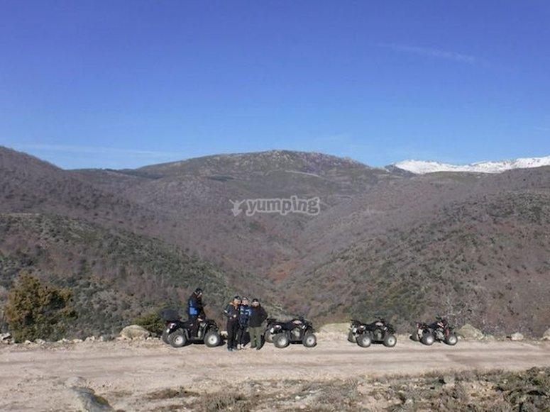 Recorrer la Sierra de Gredos en quad