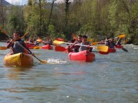 Descent of the Sella by canoe