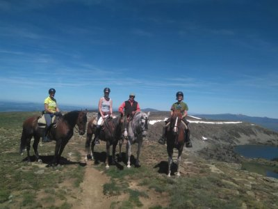 1 ora di equitazione a Covarrubias