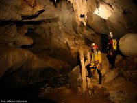 investigating the cave