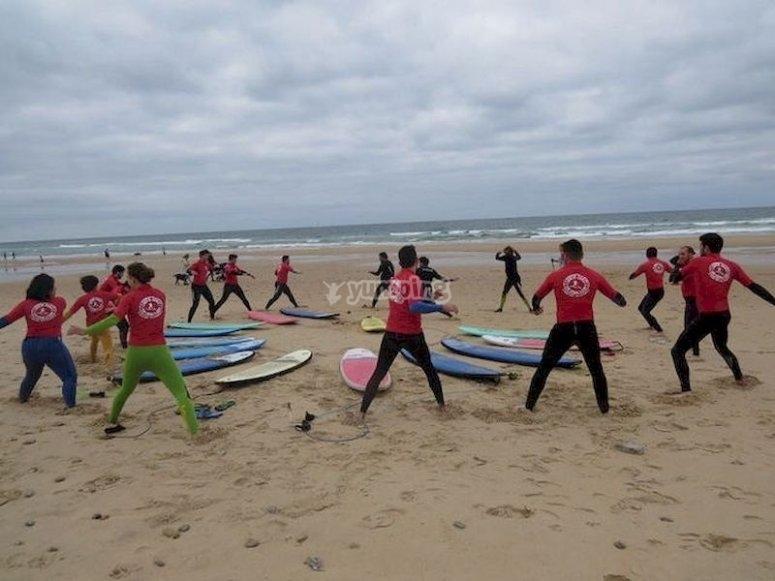 Aprende a surfear en el Palmar