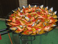 Mixed paella is always a good option