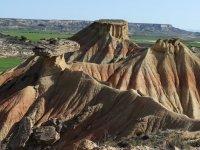 Formaciones rocosas en las Bardenas