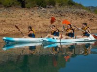 Girls kayaking excursion