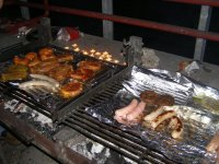 Barbecue on the farm