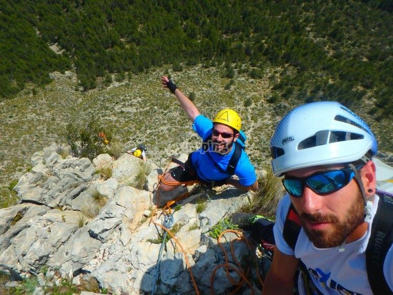 Climbing course in Valencia