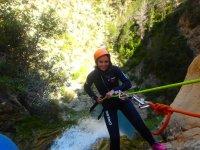 Curso de descenso de barrancos en Valencia 2 días