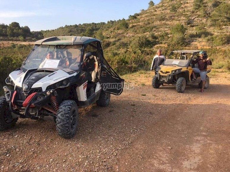 Ruta en buggy por los alrededores de Barracas