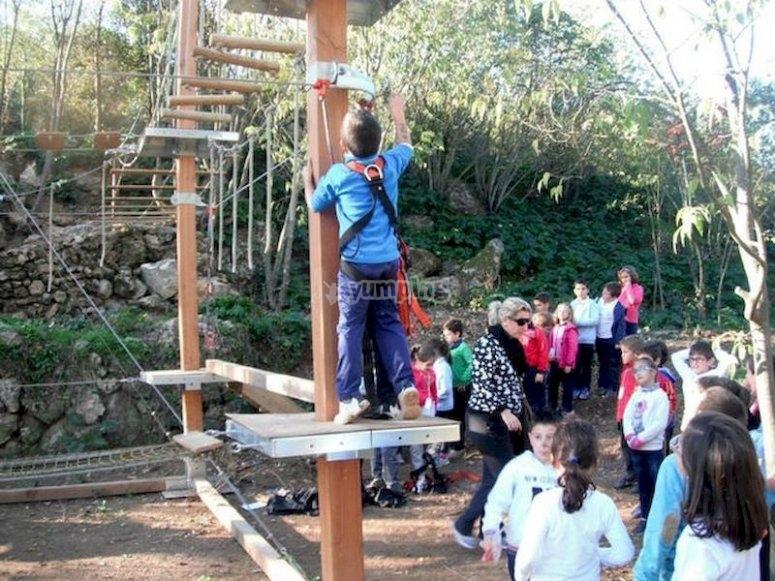 Parque de aventuras en la Sierra de Hornachuelos