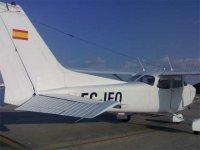 Una de nuestra avionetas