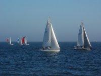 carrera en el mar