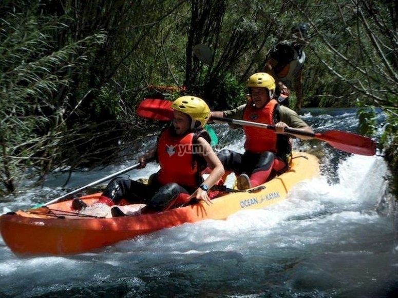 Desciende el Alto Tajo en kayak