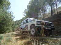 Murcia from an ATV car