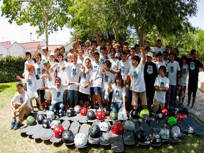 Skate camp in Málaga