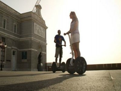 Segway 90 min. wine tasting + Iberian products