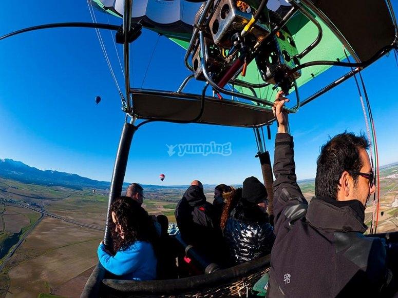 Sobrevolando Guadarrama
