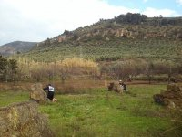 Campo de paintball natural