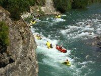 Kayak hinchables