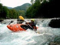 Kayak por el río Ésera