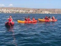 Recorriendo Santa Pola en kayak