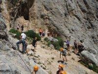 Giornata di arrampicata con gli scolari