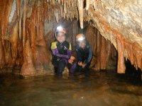 All'interno della grotta