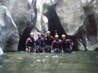 Nel canyon Buitreras