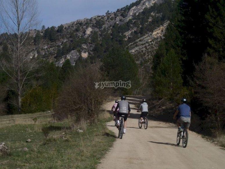Ruta BTT en Poveda de la Sierra