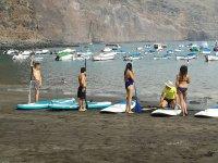 Iniciacion Paddle Surf Playa de la Vuelta
