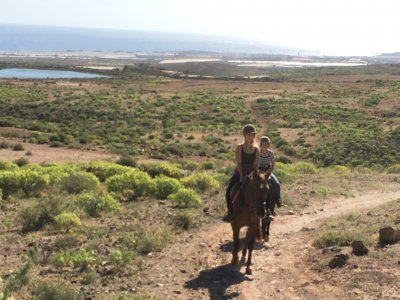 Horse riding tour 1 hour in Telde, Gran Canaria