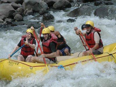 Rafting en el rio Sil. Lugo